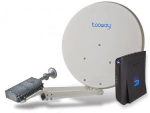 Комплект спутникового интернета TooWay