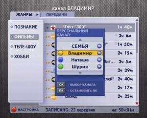 Персональный канал Актив ТВ