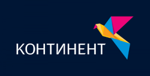 Логотип комании Континент ТВ