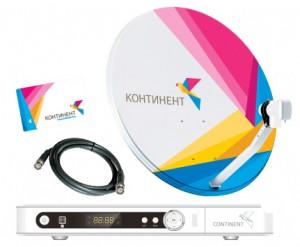 Оборудование для Континент ТВ