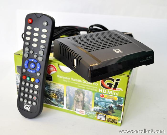 Поступление спутниковых ресиверов GI HD Mini в Smolsat