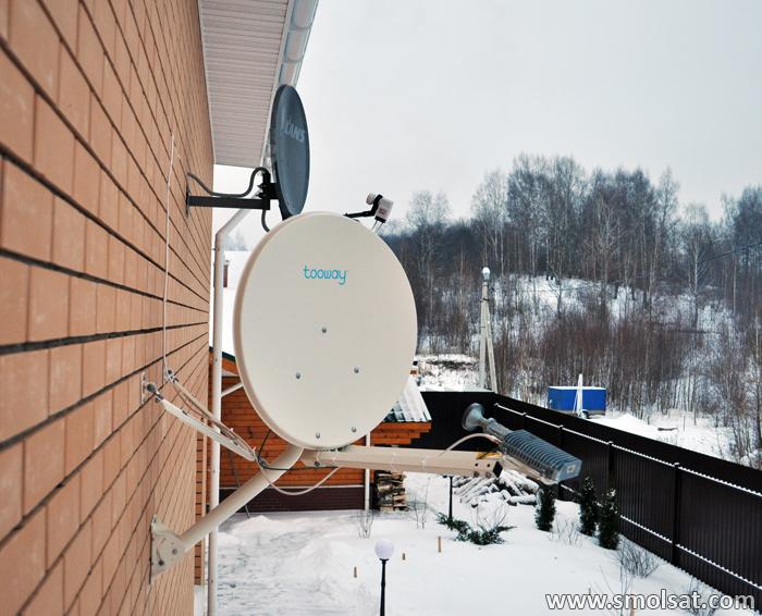 Двусторонний спутниковый интернет в Смоленске
