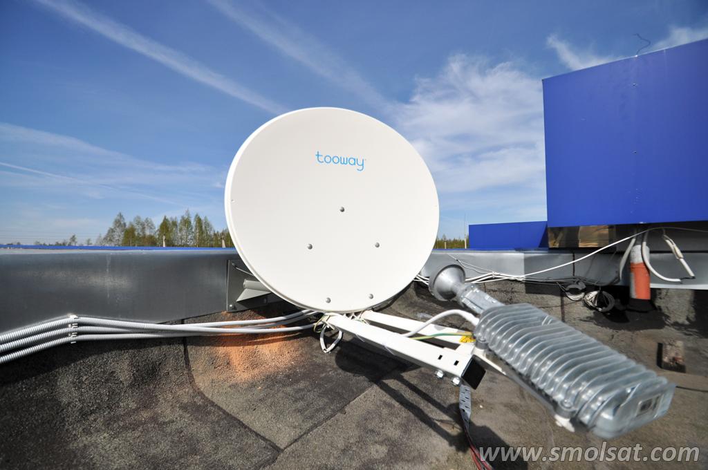 Антенна на двусторонний спутниковый интернет Tooway
