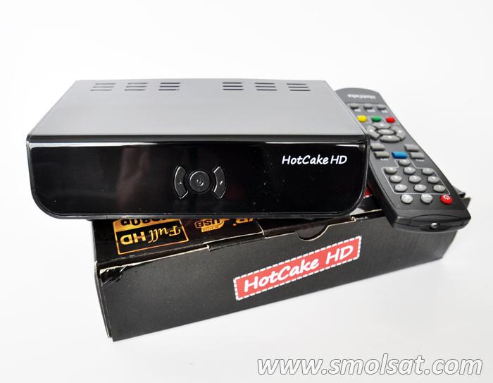Спутниковый ресивер HotCake HD
