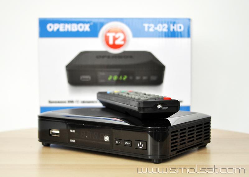 Купить DVB-T2 ресивер Openbox T2-02 HD