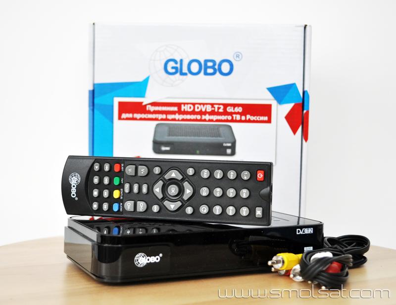 Купить DvB-T2 ресивер Globo GL60