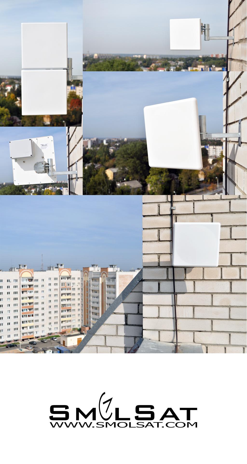 Направленная антенна для 3G и 4G интернета