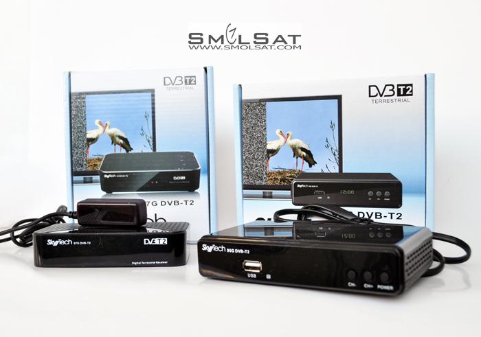 Эфирные ресиверы SkyTech DVB-T2