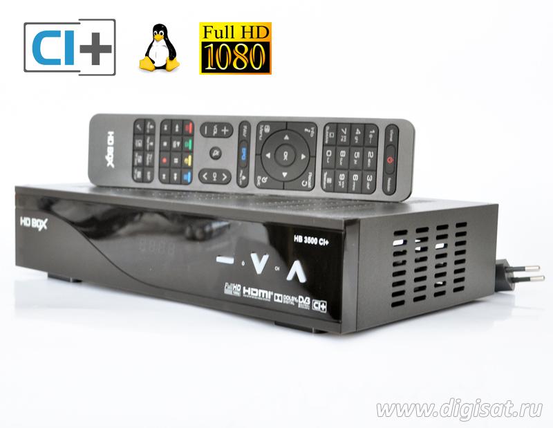 Спутниковый ресивер HD BOX 3500 CI+