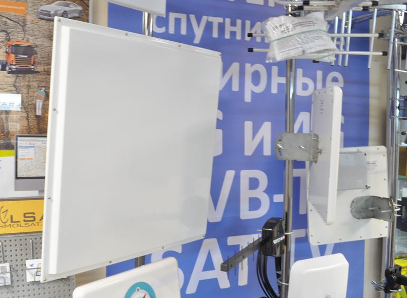 Направленная 4G антенна KP20-2600 усилением 20 дБ