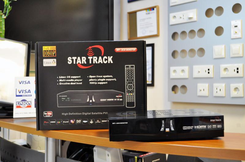 Спутниковый ресивер StarTrack SRT 3030 Monster DVB-S2 и DVB-T2