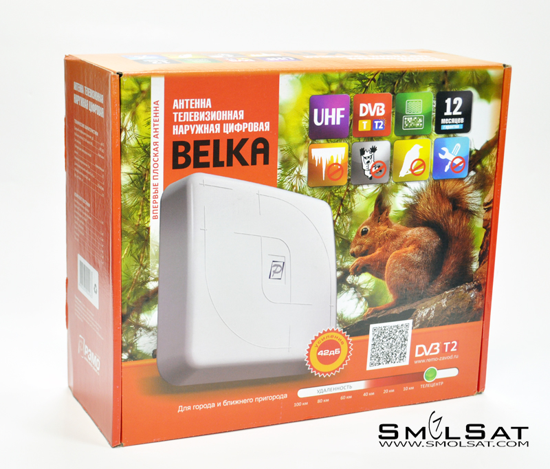 Уличная DVB-T2 антенна Belka
