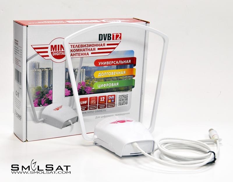 Комнатная DVB-T2 антенна MINI DIGITAL