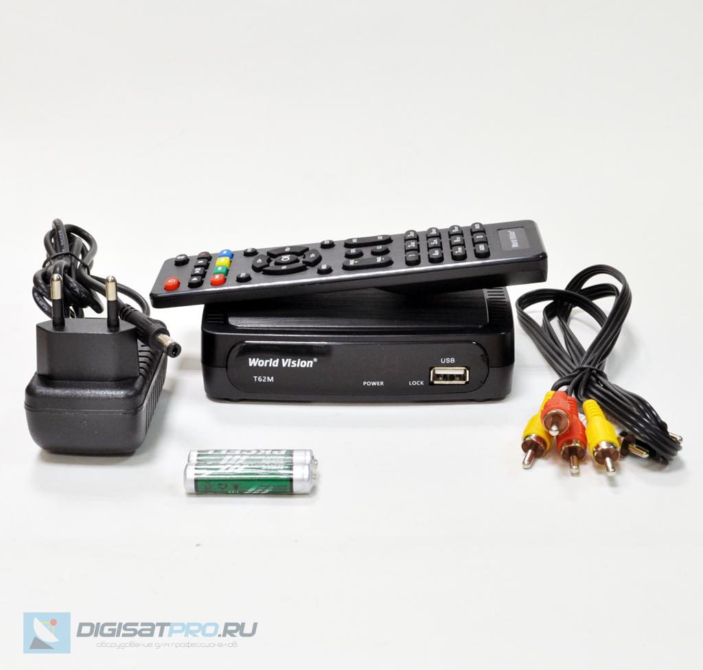 Приставка кабельная World Vision T62M